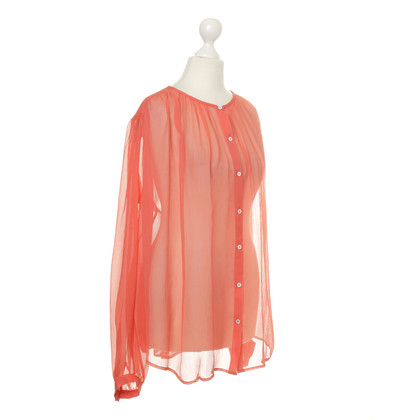 Paul & Joe Zijde blouse in Orange