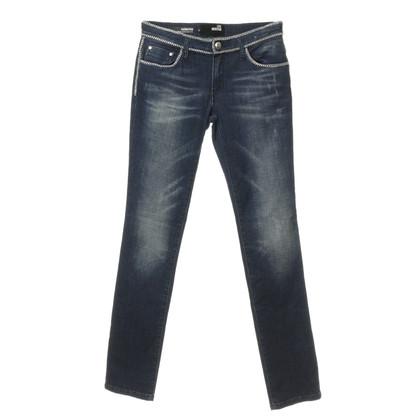 Moschino Jeans met keten ornament