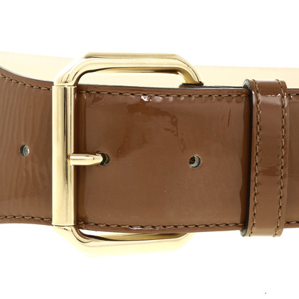 Escada Patent leather waist belt