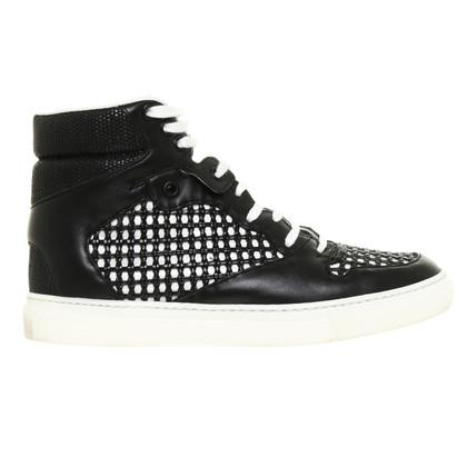 Balenciaga Sneaker con motivo di vimini