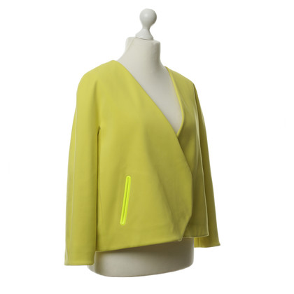 Hussein Chalayan Jacket in yellow with neon elements