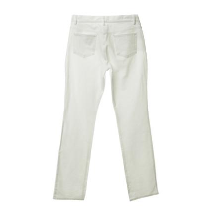 Escada Jeans in Weiß mit Boot-Cut