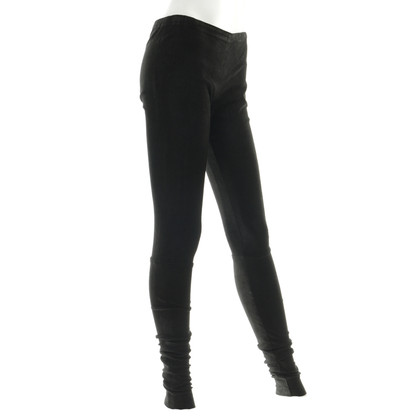 Haider Ackermann Suede leggings