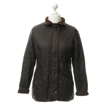 Barbour Doorgestikte jack in Brown