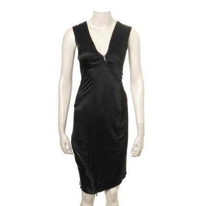 Haider Ackermann Silk dress with zippers