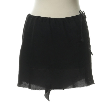 Ann Demeulemeester Mini skirt in used look