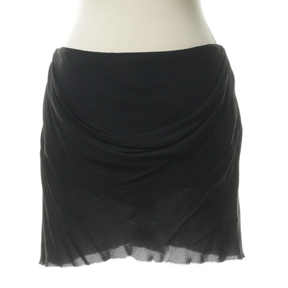 Ann Demeulemeester skirt or top with draping