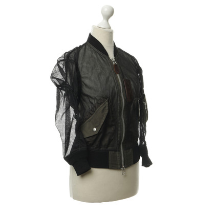 Comme des Garçons Giacca Bomber in tulle