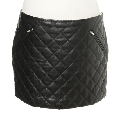 Diane von Furstenberg Leather mini quilt pattern