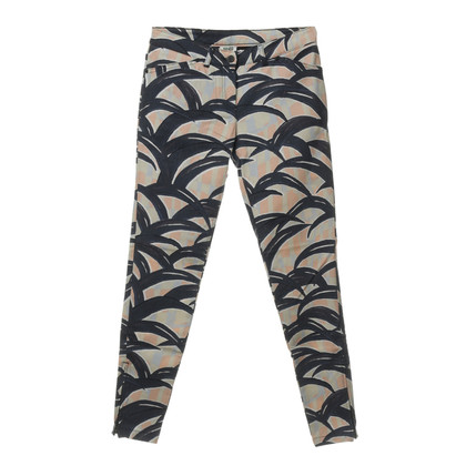 Kenzo Pants with pattern and zips
