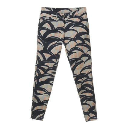 Kenzo Pantaloni con reticolo e cerniere