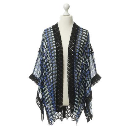 Anna Sui Kimono jas met gehaakte kant
