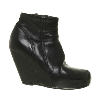 Rick Owens Ankle boot with wedge heel