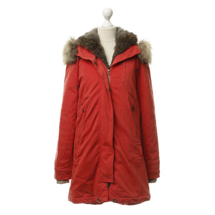 IQ Berlin Winter parka with fur trim
