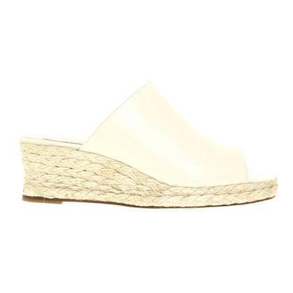 Paloma Barcelo Wedges in cream