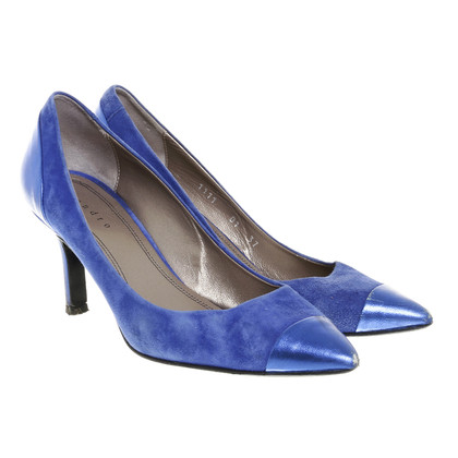 Sandro pumps with metallic lace