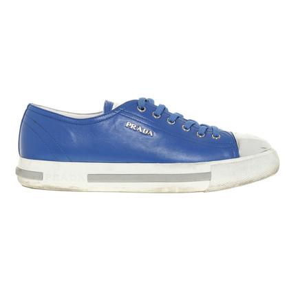 Prada Sneaker in Kobaltblau