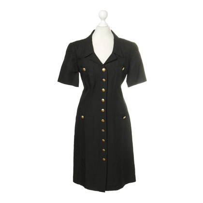 Rena Lange Dress with gold buttons
