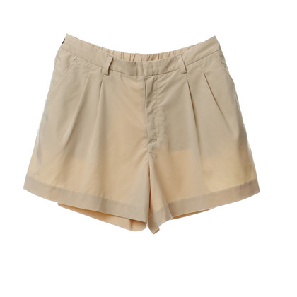 Other Designer Uniqlo - shorts in pale beige