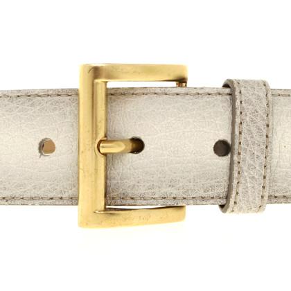 Prada Belt in Ecru antique