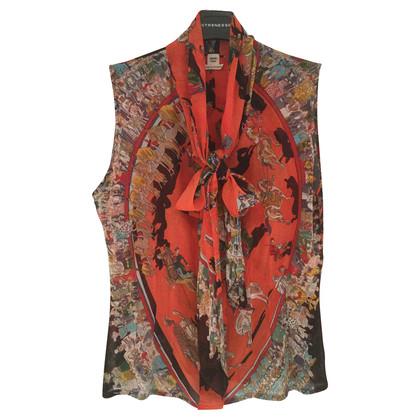 """Hermès Knop blouse """"Cirque Molier"""""""