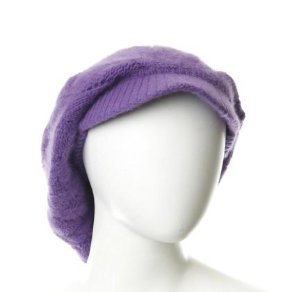 D&G Mütze in Violett