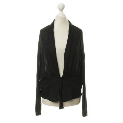 j park Wrap Cardigan in black