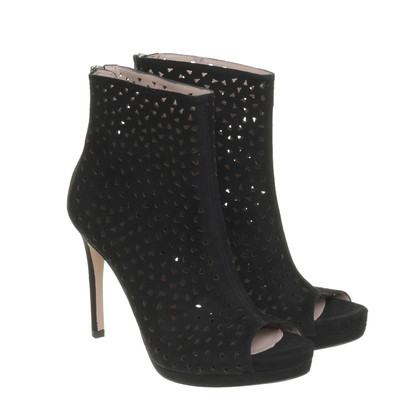 Pura Lopez Ankle boots with cut-outs
