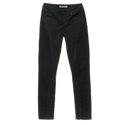 Karen Millen Black trousers with material mix