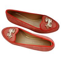 Charlotte Olympia Jaar van de hond-slippers
