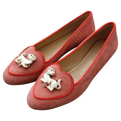 Charlotte Olympia Year of the Dog Slippers