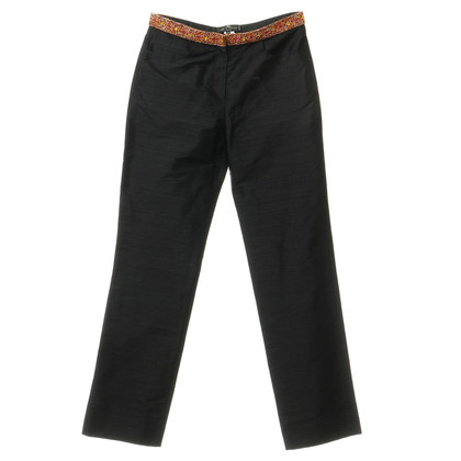Etro Trousers with beaded cuffs