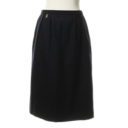 Burberry Dark blue skirt