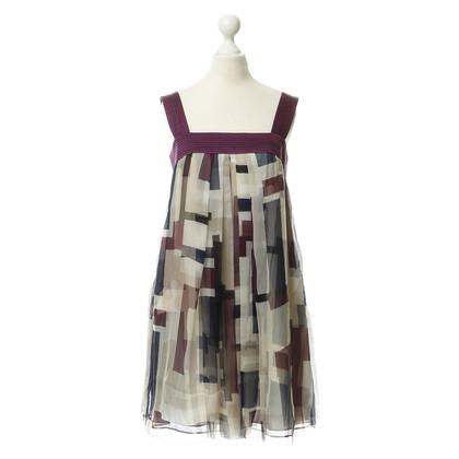 Catherine Malandrino Pinafore dress with pattern