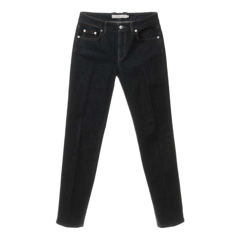Red Valentino Jeans with Rhinestone trim