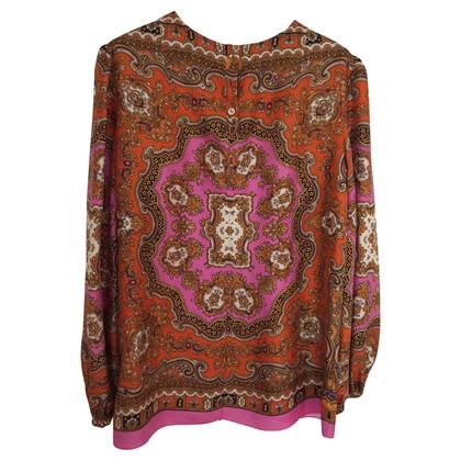 D&G Foulard pattern blouse