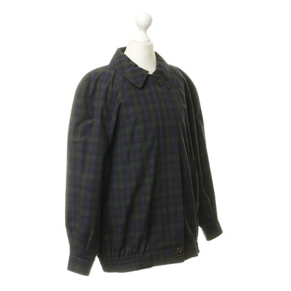 Burberry Prorsum Bomber jacket with plaid pattern
