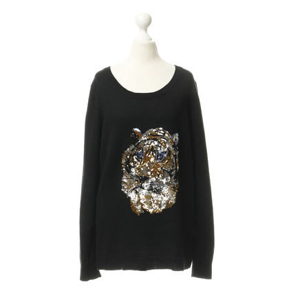 By Malene Birger Trui met lovertjes Tigerprint