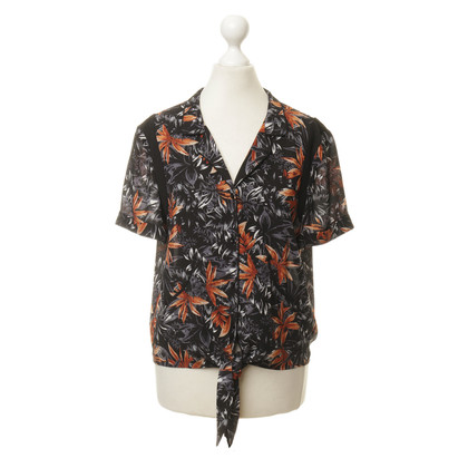 The Kooples Bluse mit Tropen-Print
