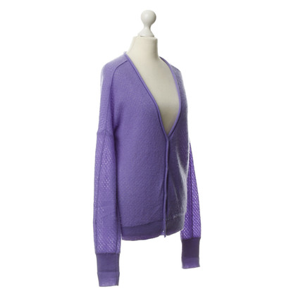 Schumacher Cashmere jacket purple