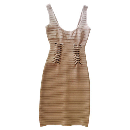 Herve Leger Stretchkleid con cut-out