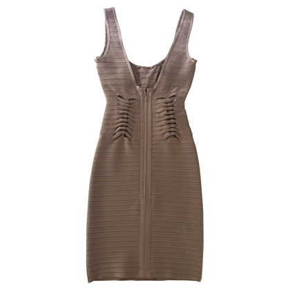 Herve Leger Stretchkleid with cut-outs