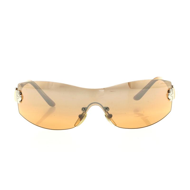 bulgari sonnenbrille mit durchgehenden gl sern second. Black Bedroom Furniture Sets. Home Design Ideas