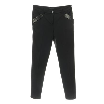 Pinko Pantaloni con trim in rettile finitura