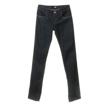 Moschino Jeans met contraststiksels