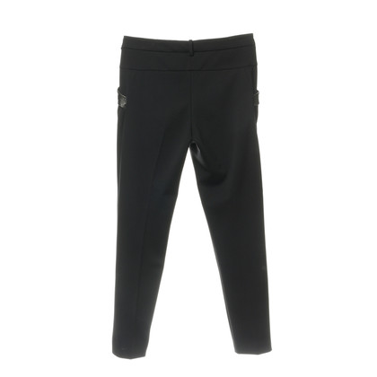 Pinko Pants with trim in reptile finish