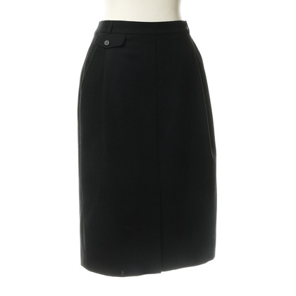 Burberry MIDI-skirt wool