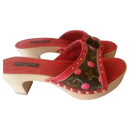 Louis Vuitton Cherry Monogram clogs mules