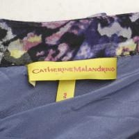Catherine Malandrino Zijde top met bloemenpatroon