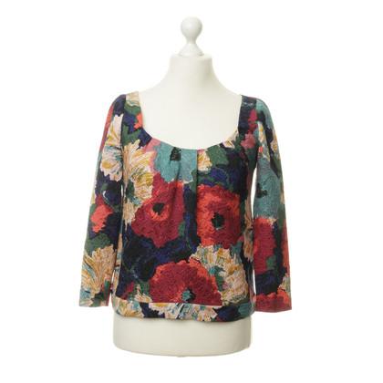 Cacharel Top avec motif mix